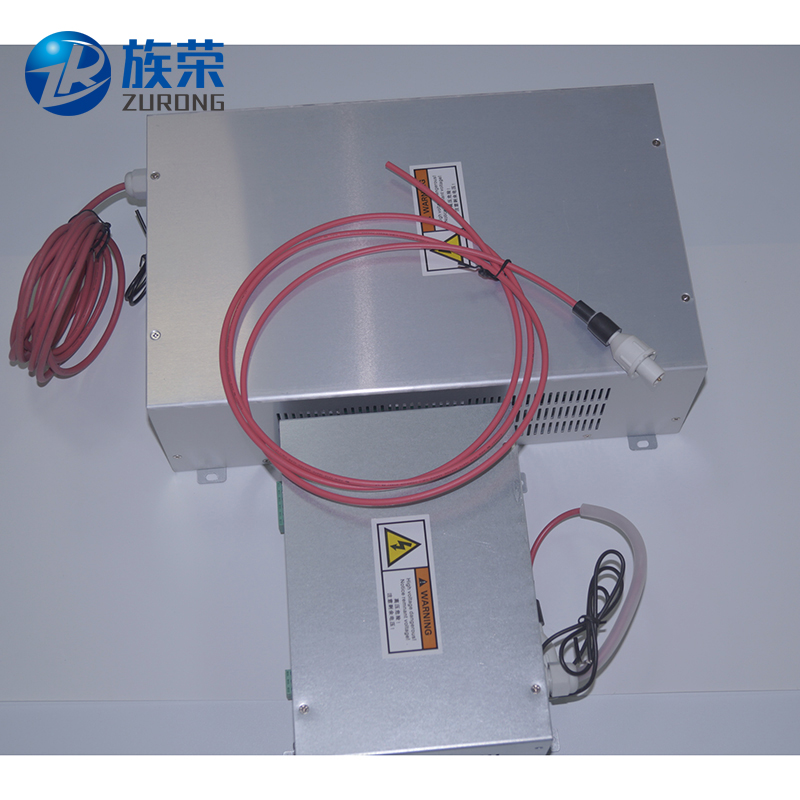 SHZR factory price good quality 40w co2 laser power supply цены