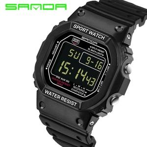 Brand SANDA Wrist Watch Men Wo