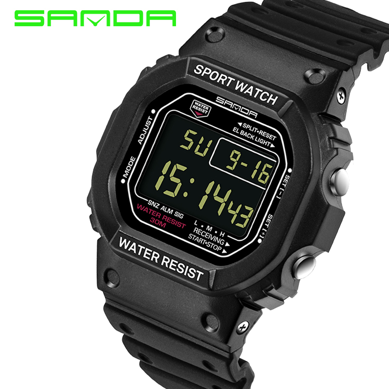Brand SANDA Wrist Watch Men Women G Style Waterproof Sports Military Watch Shock Men's Luxury Digital Watches Relogio Masculino
