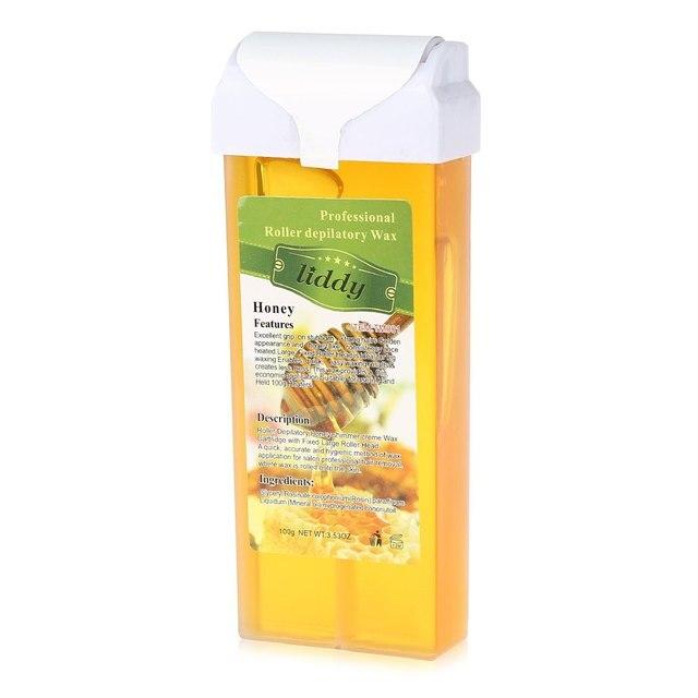 100 г Крем для удаления волос свежих тропических аромат Мёд натуральный Воск пчелы Воск Средства ухода за кожей удаления волос крем для депиляции для всех типов кожи