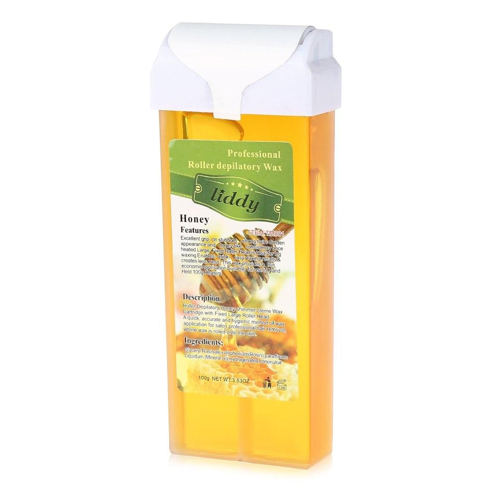 100g <font><b>Hair</b></font> <font><b>Removal</b></font> <font><b>Cream</b></font> <font><b>Fresh</b></font> Tropical Fragrance Honey Natural Wax Beeswax Body <font><b>Hair</b></font> <font><b>Removal</b></font> Depilatory <font><b>Cream</b></font> For All Skin