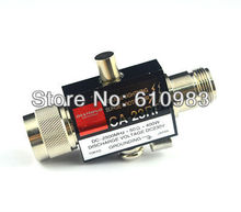 1 piece CA23RS 2.5GHZ 400W Coaxial CA-23RS Lightning Arrester Surge Protector ( N Connector ) Free Shipping