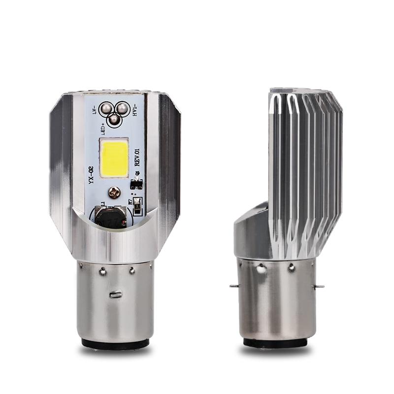 Ampoule de phare de Moto à Led H6 Ba20d 6000k Light ATV Moto accessoires de Moto phare antibrouillard Suzuki pour Honda, etc
