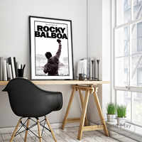 Rocky Balboa 1976 Movie Posters and Prints Wall art Decorative Picture Canvas Painting For Living Room Home Decor Unframed