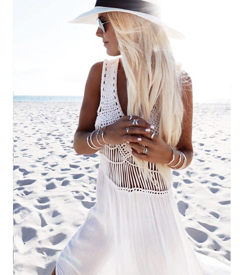 67183c7db2a8 Vestido branco Moda Praia Elegante Vestido Branco Nobre Elegância Do Vestido  de Slim Era Magro Novo Verão Novas Senhoras Da Moda No Atacado em Vestidos  de ...