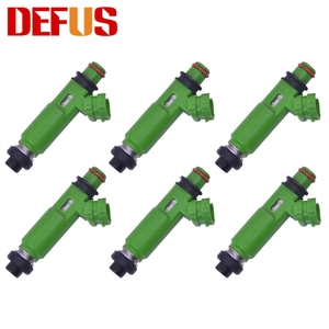 6pcs Fuel Injector For Mitsubishi Montero Sport 3.0L 6G72 1998-2003 MD332733 195500-3170 Nozzle Injection Injectors Car Fuel Kit