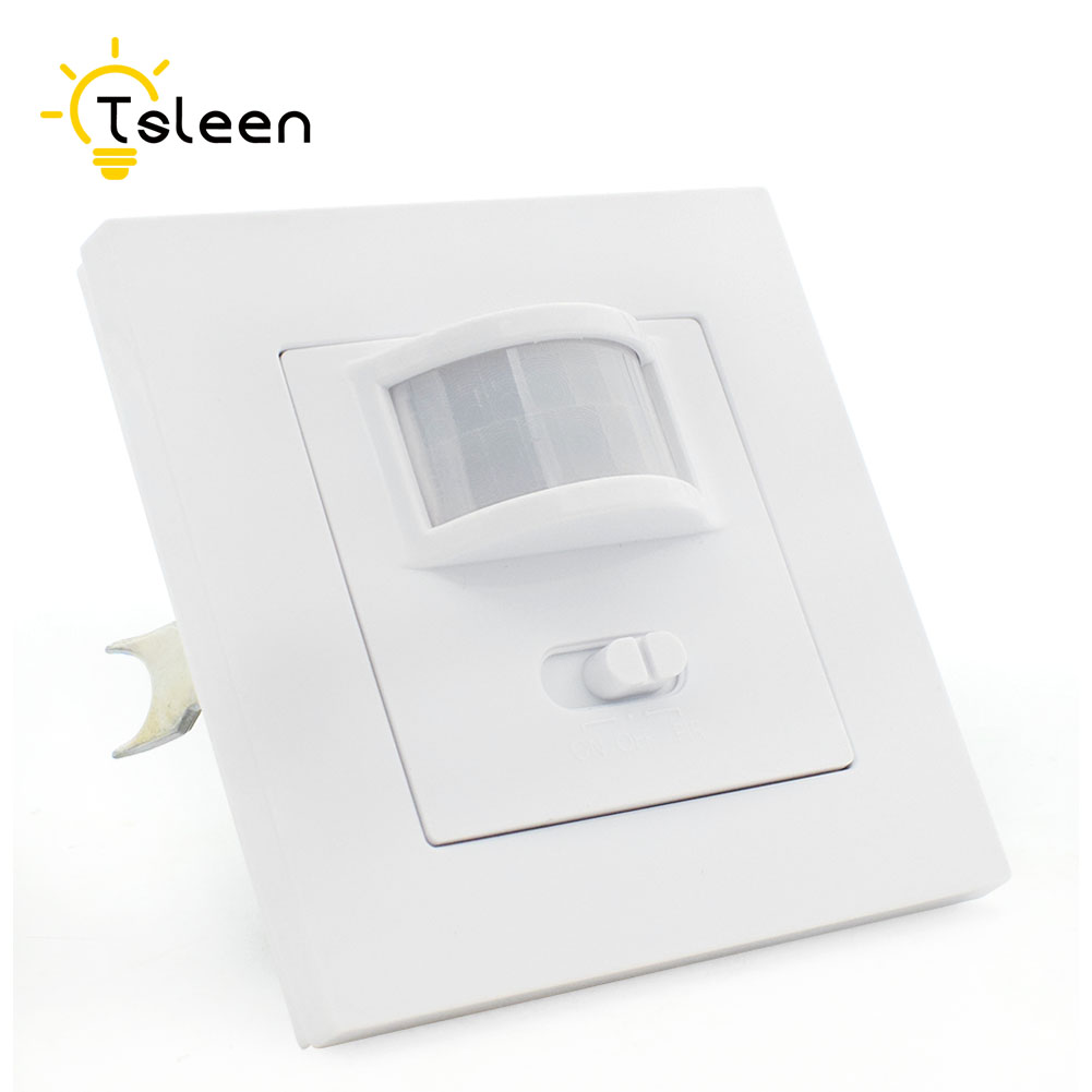 Us 12 21 42 Off Pir Infrared Motion Sensor Switch 110v 220v Automatic Light On Off Switch For Corridor Staircase Bathroom Storage Garage Lamp In