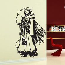 Inuyasha Sesshoumaru Muurtattoo Vinyl Muurstickers Decal Decor Home Decoratieve Decoratie Anime Inuyasha Auto Sticker