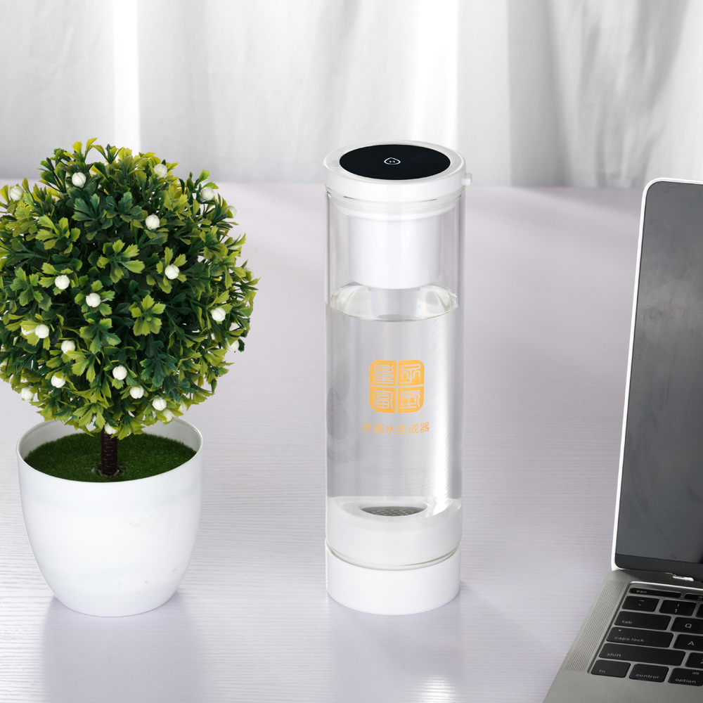 MRETOH 7.8Hz/Hertz Earth frequency Activated water Molecular Resonance Effect Technology and Hydrogen generator H2 water cup
