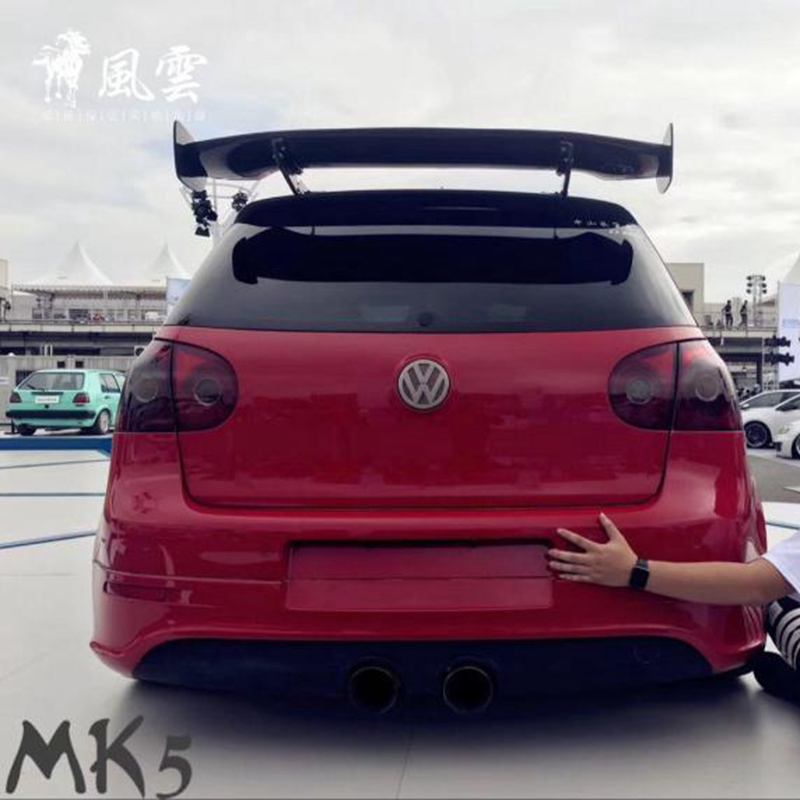 Golf 4 5 6 7 MK4 5 6 7 GT Style Carbon Fiber Rear Roof Lip Spoiler Wing for Volkswagen MK 4 5 6 7  MK 7.5 2008 2018|Spoilers & Wings| |  -