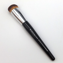 Brand New Long Wood Handle Sweet Heart Big Water Drop Shape Dense Hair Tip No.66 Pro Press Full Coverage Complexion Makeup Brush