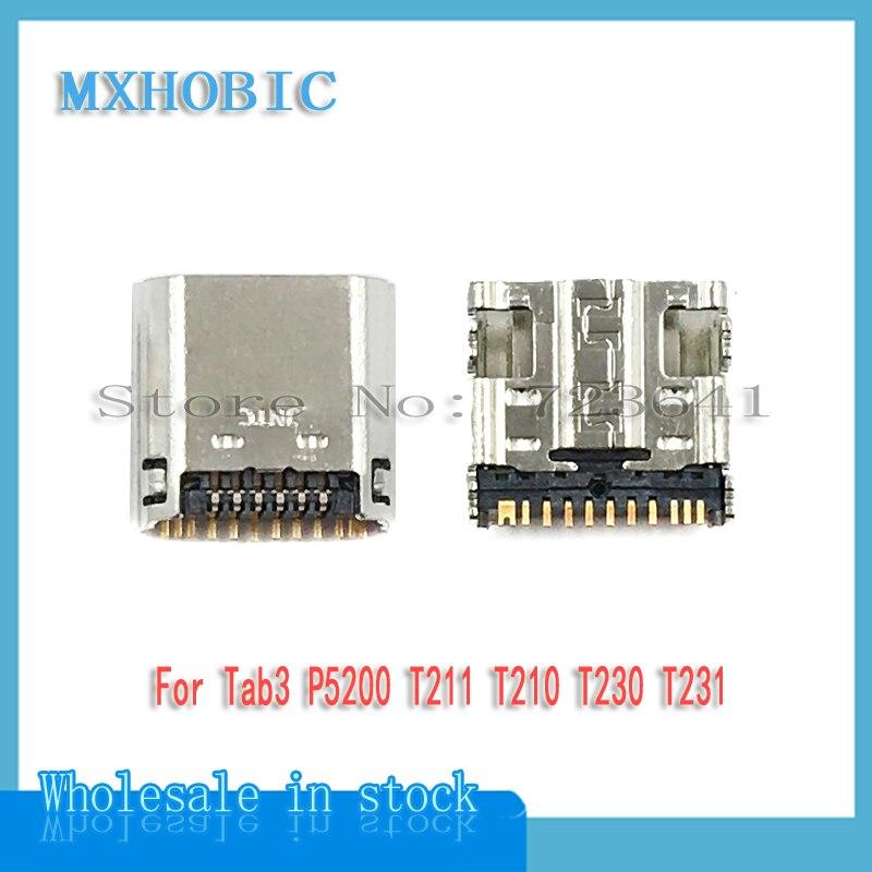 Connector P5200 Samsung Charger-Socket I9200 Micro-Usb Galaxy for Galaxy/Tab/3-7.0/..