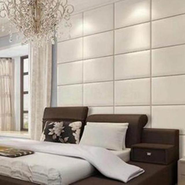 PE Foam 3D Wall Stickers Safty Home Decor Wallpaper DIY Wall Decor Brick  Living Room Kids