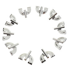 20 шт сменный барабан с серебряным железным покрытием зажим