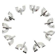 20pcs Silver Iron Plating Drum Claw Hook Clamp for Bass Replacement Parts Accessories