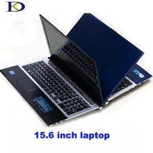 Kingdel Thin computer Intel core i7 3537U Laptop Notebook 2.0GHz DVD-RW For Office Home 4G RAM+1T HDD 4M Cache A156