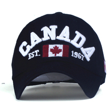 Canada Embroidered Lettering Dad Hat
