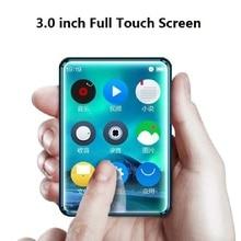 X6 plein écran tactile lecteur MP3 8GB 40GB lecteur de musique avec Radio FM lecteur vidéo E book haut parleur intégré PK benjie x6 x5 RUIZU
