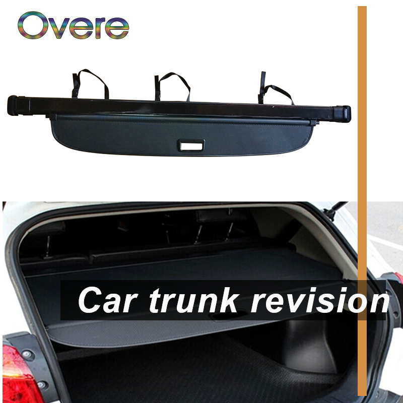 Overe 1Set Car Rear Trunk Cargo Cover For Audi Q7 2010 2011 2012 2013 2014 2015