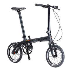 6.7kg city bike Adults folding bike 14/16 folding bike for Adults carbon fiber foldable bike light weight carbon folding bicycle
