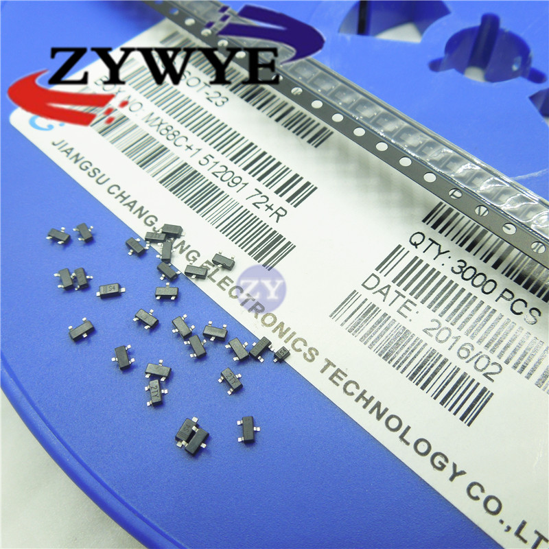 new 3000pcs BZX84C6V2LT1G Zener diode 6.2V SOT23 Z4 BZX84C6V2 1 w zener diode 1 n4732 4 glass v7 4 7 v