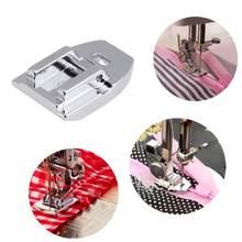 Pie Invisible de acero inoxidable con cremallera, prensatelas para Singer, Brother, piezas para máquina de coser del hogar, 1 ud.
