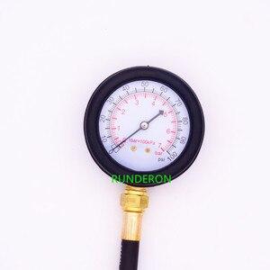 Image 3 - Automotive Engine Oil Pressure Gauge Detection Diagnostic Tools 0 7 bar / 0 100 PSI