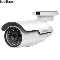 GADINAN Hi3516D OV4689 25FPS 4MP HEVC 4X Zoom Auto Focus Bullet IP Camera Motion Detection Email