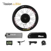 PASION E велосипед Конверсионные Комплекты с В батареей 48 В 1500 Вт концентратор Мотор заднего колеса мотор электрический велосипед комплект 52 в