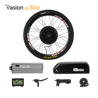 PASION E BIKE Conversion Kits With Battery 48V 1500W Hub Motor Rear Wheel Motor Electric Bike Kit 52V 12.8AH E Bike Battery