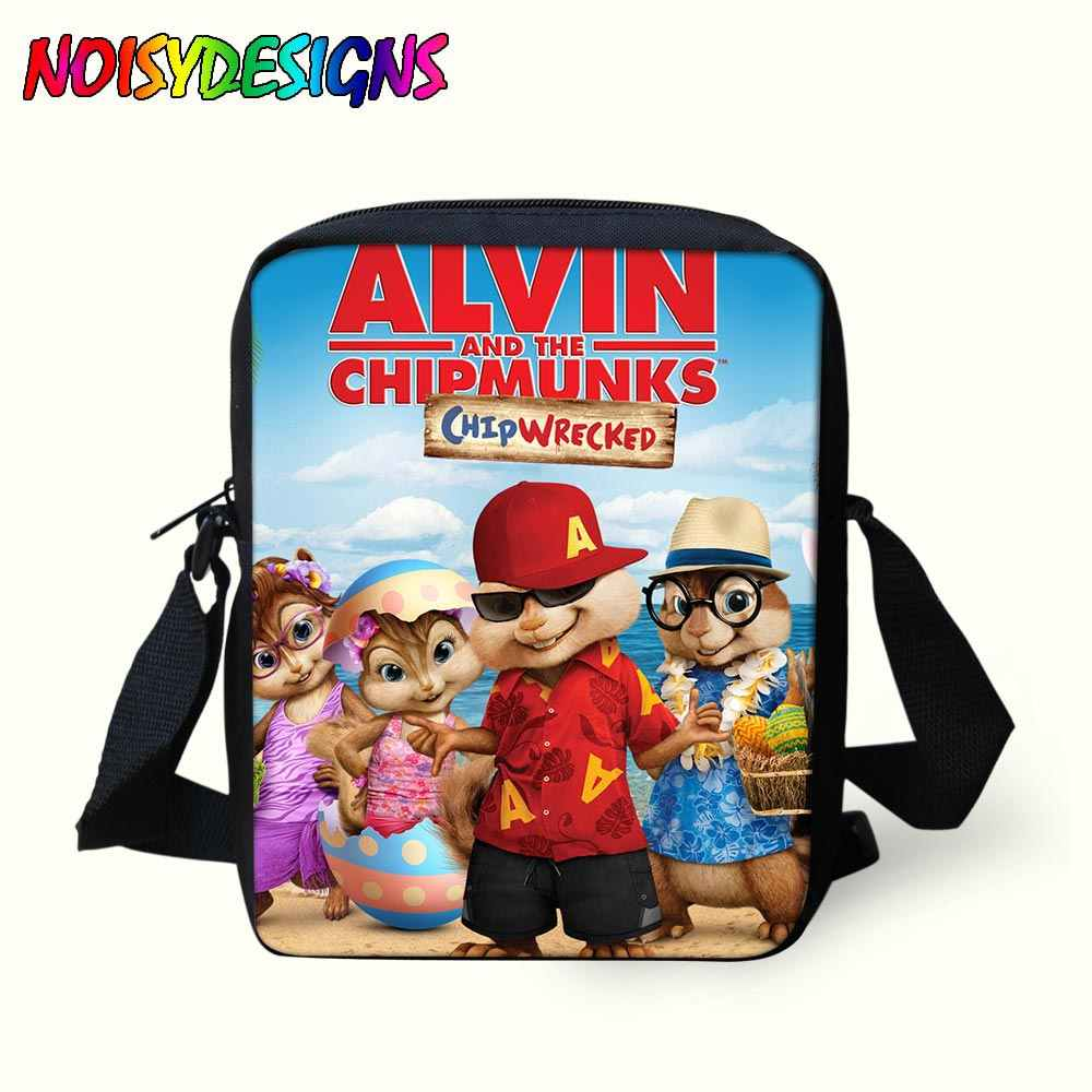 ... Kids Mini Handbags Alvin And The Chipmunks Messenger Bags for Children  School Bag Boys mochila Bolsa ... 2c24a88f157d9