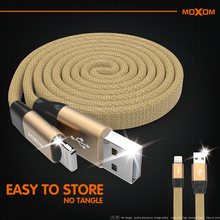 MOXOM USB Cable for lighting cable 2.1A fast charger chargin