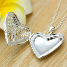Vogue Personality Heart Individual Usable Magic Necklace Latest Photo Frame Style Unique Casual Creative Excellent(China)