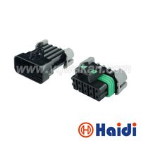 Free Shipping 5sets Delphi Electric 10pin Auto Housing Plug Waterproof Plastic Wire Cable Harness Connector 12045808