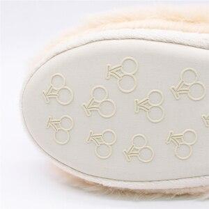 Image 5 - Зимние домашние плюшевые тапочки с милыми животными для влюбленных; Обувь для мужчин и женщин; Мягкие теплые пушистые тапочки в форме собаки; Лучший подарок для девочек