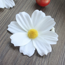 Buy white cosmos flower and get free shipping on aliexpress 9cm white flowers artificial cosmos diy home decoration girl dress adornment accessories 5pcsbag mightylinksfo