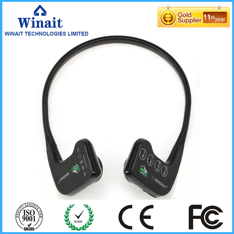 2017 Outdoor Sport Running Bone Conduction Headset Earphone built-in microphone 8G Waterproof Headphone BH-905