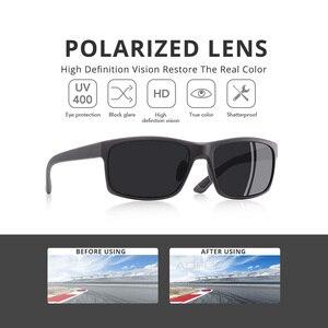 Image 2 - AOFLY MARKE DESIGN TR90 Polarisierte Sonnenbrille Männliche Fahrer Shades Frauen Mode Sonnenbrille Für Männer Platz Brillen zonnebril heren