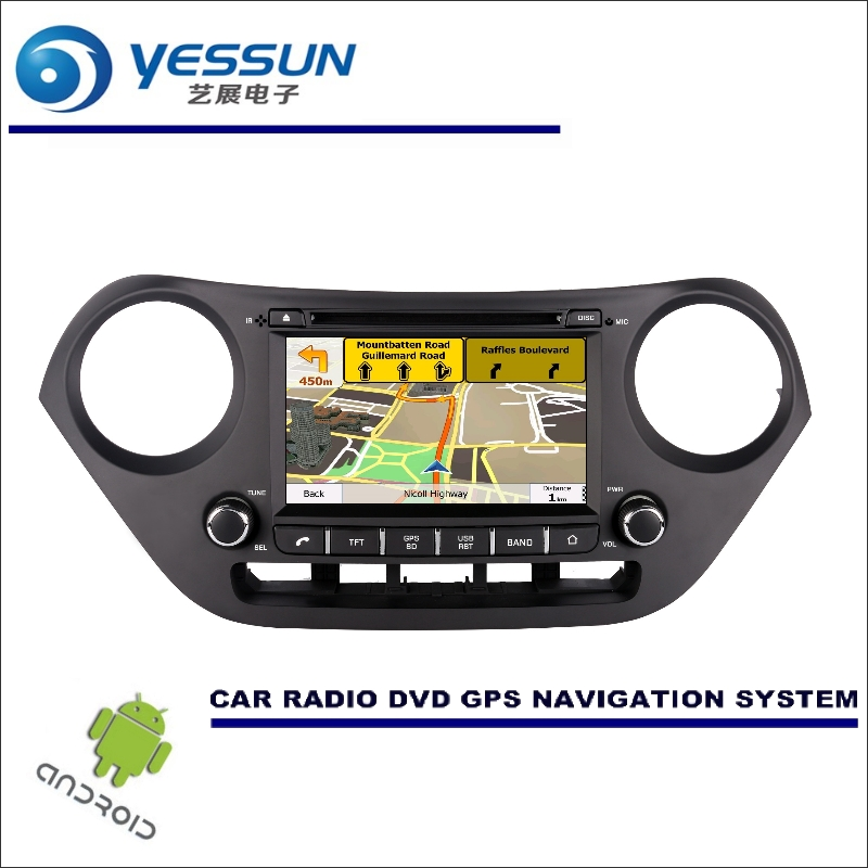 YESSUN For Hyundai Grand i10 2013~2016 Right Hand Drive Android Car Multimedia Navigation CD DVD GPS Player Navi Radio Stereo HD yessun for mazda cx 5 2017 2018 android car navigation gps hd touch screen audio video radio stereo multimedia player no cd dvd