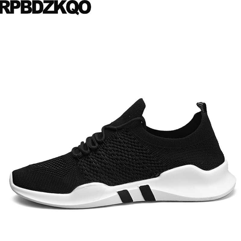 Walking Lightweight Men Sneakers 2017 Shoes Trainers Breathable Lace Up Black Casual Comfort Autumn Fashion Stylish Popular Hot 2017 new summer breathable men casual shoes autumn fashion men trainers shoes men s lace up zapatillas deportivas 36 45