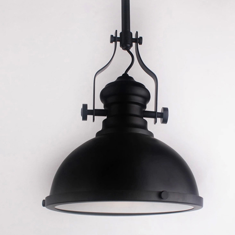 Aliexpress.com : Buy Classic Black Loft America Country Industrial Pendant  Light Drop Lights Bar Cafe Droplight E27 Art Fixture Lighting Brief Nordic  From ...