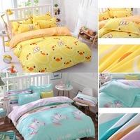 PPCrafts ALOE Cotton Home Textile Bedding Set Bed Linen Duvet Cover Bed Sheet Pillow Case Bedding