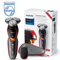 Philips SW6700/14 Star Wars Special Edition сухой и влажной электробритва для Для мужчин 1 час быстрой зарядки моющиеся Универсальный Напряжение