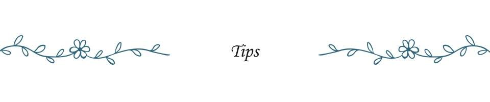 5.Tips