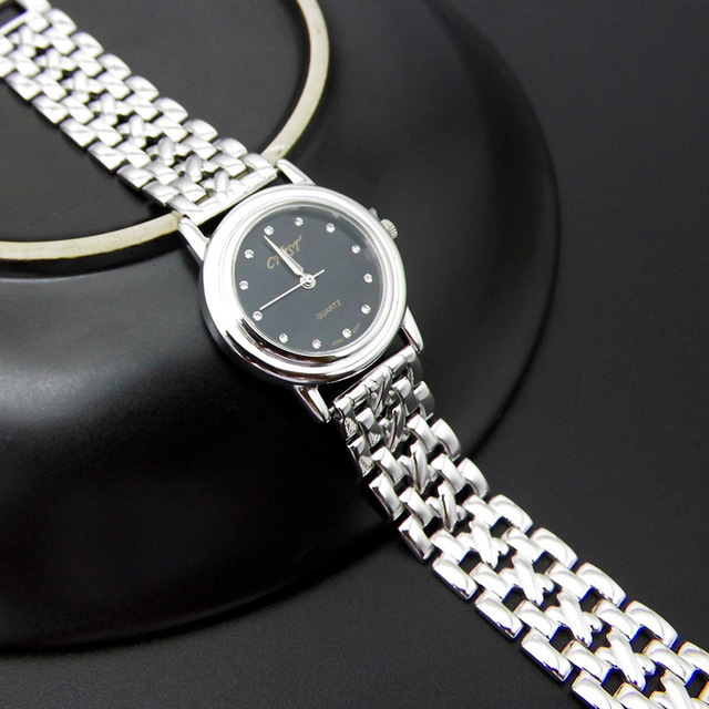 S925 Sterling Silver Fashion Simple Retro Thai Silver Ladies New Watch Bracelet Detachable Section