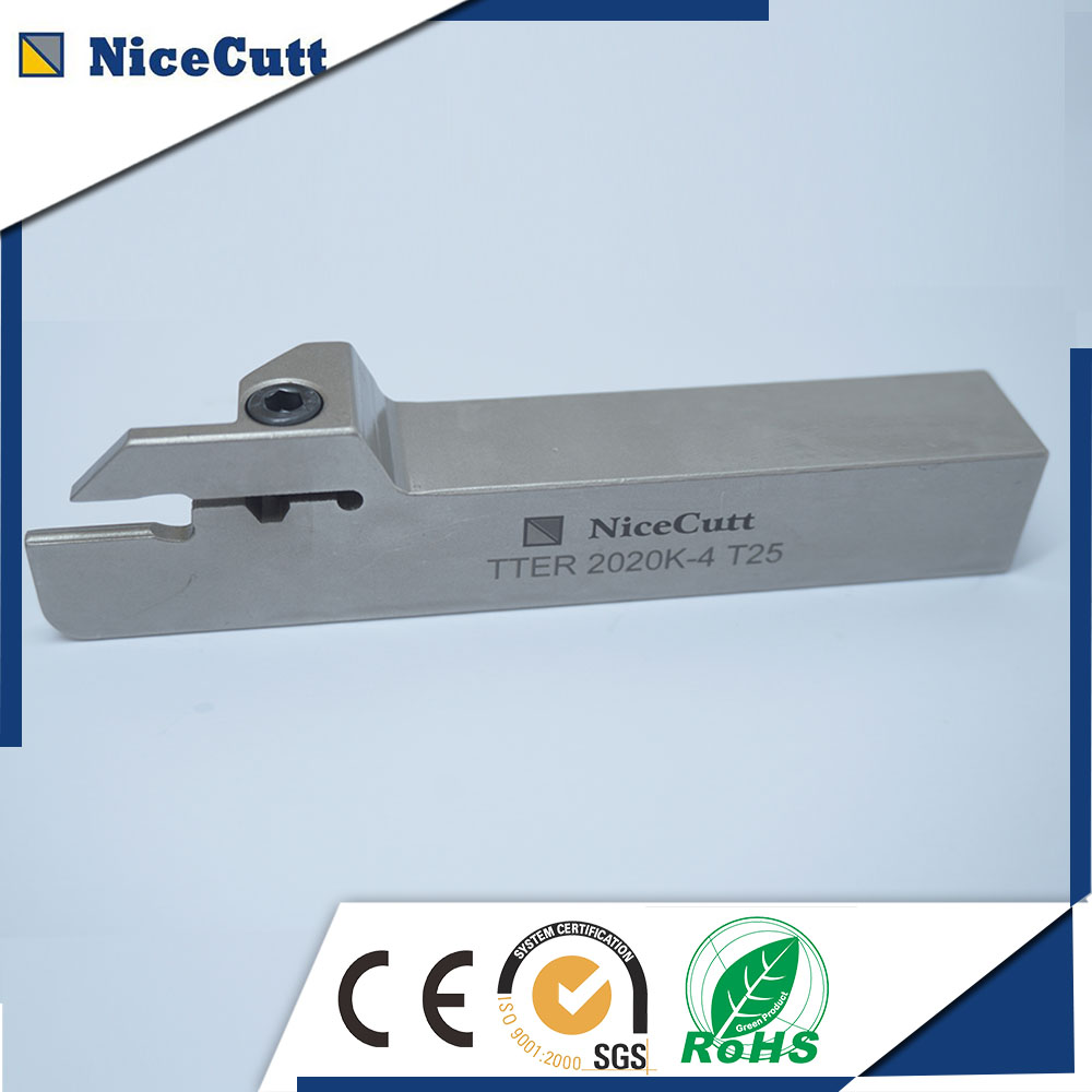 Free Shipping Solt Grooving Cutting tool holder TTER2020K CNC Machine for Grooving insert TDC with high