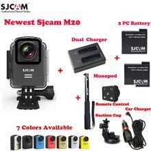 Original SJCAM M20 Wifi 30M Waterproof Sports Action Camera Sj Cam DV+2 Battery+Dual Charger+Monopod Remote +Car Charger+Sucker