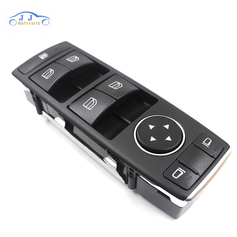 1669054300 Noir Fenêtre Miroir Interrupteur Control Unit Pour Mercedes W166 X166 W156 W242 GLA GL 1669054400 2929054900