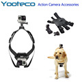 GoPro Accessories Fetch Harness Pet Dog Chest Strap Mount Belt  For Go Pro 5 SJCAM SJ4000 SJ5000 Xiaomi yi EKEN H9 Action Camera