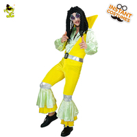 Men S 70 S Hippie Costume Masquerade Club Party New Arrival Style Fancy Dress Cosplay Hippie